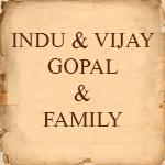 Indu & Vijaygopal & Family