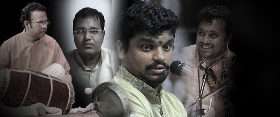 Concert by Sri.Kunnakudi Balamuralikrishna